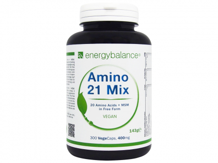 Amino 21 mix Aminosäuren in freier Form 400mg - vegan