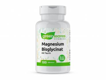 Magnesium Bisglycinat 100mg - 100 Tabletten