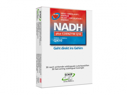 NADH plus Coenzym Q10 - sublingual
