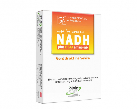 NADH plus BCAA amino-mix - sublingual