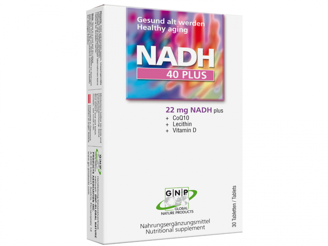 NADH 40plus nach Prof. Bankhofer